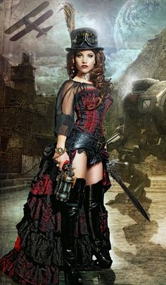 londonwarrior:  ready for steampunk battle  my God, where are you finding all these beautiful pictures?