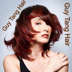 Autumn red Ombre for Fall by Guy Tang