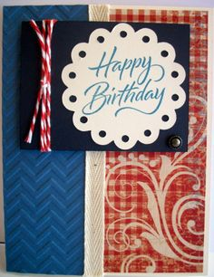 CTMH Jubilee paper & Joyful Birthday stamp set