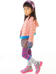 Stripes upon stripes in many colors