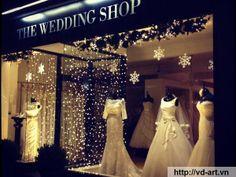 Dịch vụ thiết kế nội thất showroom áo cưới tại hà nội