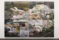 LI SONGSONG, Pig Years, 2010, oil on aluminum panel, 380 × 520 cm. Courtesy the Pace Gallery, New York.