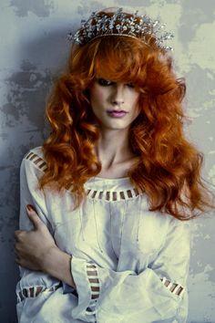 pretty red hair #hair #red