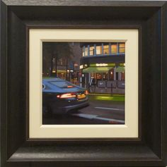 Urban Manchester cityscapes by artist Michael John Ashcroft just in at www.hepplestonefineart.com