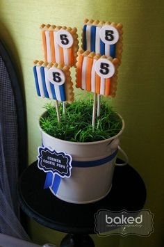 Soccer themed birthday party with Lots of Awesome Ideas