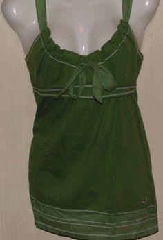 Hollister Blusa verde