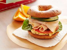 Creamy Hummus and Smoked Turkey Sandwich