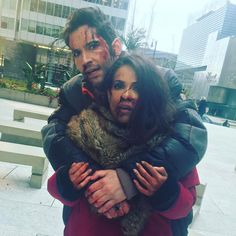Oh dear it looks like things got a little frisky Lucifer S2, Tom Ellis Lucifer, Series Movies, Tv Series, Lesley Ann Brandt, Morning Star, Film Serie, Model Pictures, Movies Showing