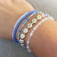 WDW 50th Anniversary Disney Individual Beaded Bracelet Set | Etsy Stack Bracelets, Beaded Bracelets, 50th Anniversary, Bracelet Set, Etsy, Jewelry, Fashion, Moda, Jewlery