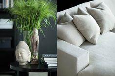 Home decor . The art of matching . Interior Design Inspiration, Room Inspiration, Buddha Home Decor, Oriental Design, Black Walls, Coastal Living, My Dream Home, Decorating Your Home, Living Room
