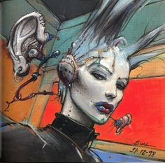 "From ""Magma"" by Enki Bilal"