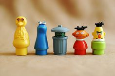 Sesame Street Little People - everyone here except Oscar...WHY do I not still have Oscar????