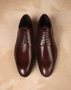 Bull leather portofino derby shoes Men - Dolce&Gabbana