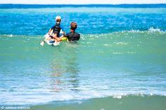 Surfing school in #Levanto ©AdelmoMassola