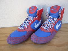 size 40 3adf9 f9a8e Nike Greco Supreme Wrestling Shoes US12 UK9 5 EUR44 5 CM29 Multi Colored   eBay Wrestling
