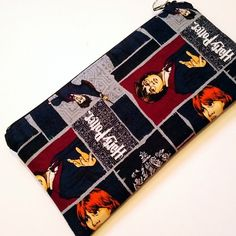 Pencil cases for writers, readers and book lovers: Harry Potter graphic novel pencil case on Etsy