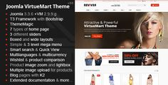 Reviver - Responsive Multipurpose VirtueMart Theme