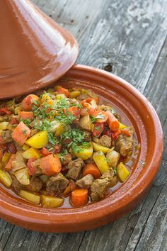 Frugal Food Items - How To Prepare Dinner And Luxuriate In Delightful Meals Without Having Shelling Out A Fortune Easy Beef Tagine You Don't Have To Own A Tagine To Make It, Either Beef Tagine Recipes, Moroccan Tagine Recipes, Moroccan Beef, Moroccan Dishes, Beef Recipes, Cooking Recipes, Healthy Recipes, Moroccan Kitchen, Healthy Food