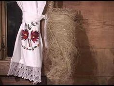 Wool and flax spinning in rural part of Serbia included in this video. Use of spindles, distaff, wheel, combs in traditional ways.