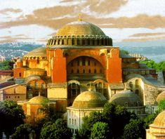 Hagia Sophia - Hagia Sophia is a former Orthodox patriarchal basilica, later a mosque, and now a museum in Istanbul, Turkey. Hagia Sophia Istanbul, Fall Of Constantinople, Architecture Antique, Architecture Details, Round Building, Empire, Byzantine Art, Istanbul Turkey, Ancient Greece