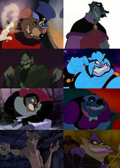 Bad Guys from Don Bluth Movies.