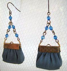 The ReFORMatory: Miniature Handbag Earrings