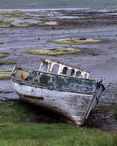 Pennyghael boat ruin | Flickr - Photo Sharing!