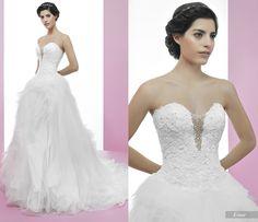 Einar #miquelsuay #bridalcollection One Shoulder Wedding Dress, Bridal, Wedding Dresses, Fashion, Confident Woman, Curves, Princess, Women, Bridal Dresses