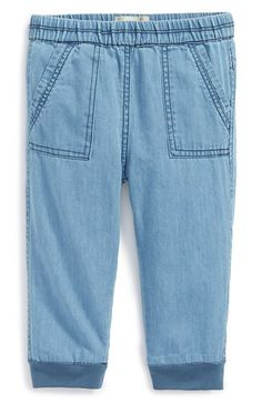 Peek 'Leah' Cotton Pants (Baby Girls) available at #Nordstrom