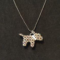 Schnauzer necklace by TreasuresByTerese on Etsy