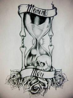 memento mori tattoo - Google Search
