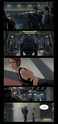 Mass Effect,фэндомы,ME комиксы,ME crossover,ME персонажи,Femshep,Commander Shepard,Garrus,Ashley,Kaidan,грань будущего