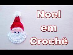 Papai Noel em Crochê - 1° Vídeo Aula da Nossa Série Especial de Natal - YouTube Free Crochet, Crochet Hats, Creative Food Art, Crochet Snowflakes, Lavender Roses, Christmas Crafts, Christmas Ornaments, Free Pattern, Diy And Crafts