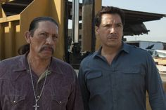 """Danny Trejo and Benito Martinez  on Sons of Anarchy from """"To Thine Own Self""""."""