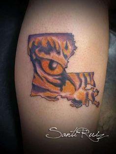 LSU Tattoo Infinity Tattoos Snap Backs Lsu Picture Tatoos Tatting