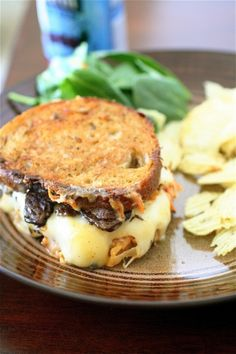 vegetarian reuben sandwiches -- I've never even had a reuben but I'm obsessed with them.