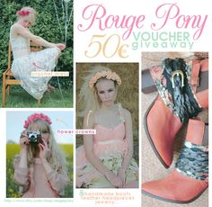 BALLERINA BIRD: Giveaway: 50€ voucher @ Rouge Pony