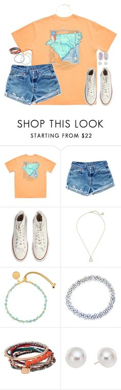 """I don't like sharing my favorite humans on earth with other people"" by kaley-ii ❤ liked on Polyvore featuring Levi's, Converse, Kendra Scott, Astley Clarke, Meredith Frederick, Kenneth Cole and Pearlyta"