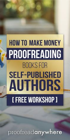 If you love to read and have a knack for finding errors, you could totally make money proofreading books! via @prfrdanywhr