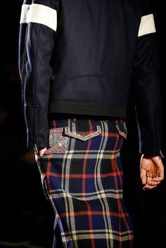 Dries Van Noten Fall 2015 Menswear #jacket #design #lines