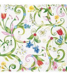 Papírszalvéta Floral pattern