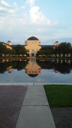 Charleston Southern University science building