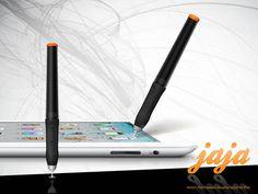 jaja :: Worlds First Pressure Sensitive Stylus for iPad  バッカーになってみたよ♪