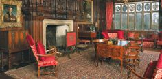 Drawing Room, Levens Hall, UK.