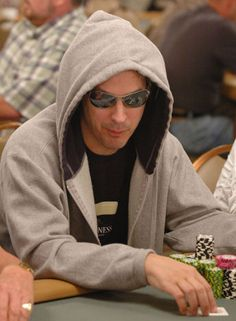 "Pro Poker Player Phil ""Unibomber"" Laak"