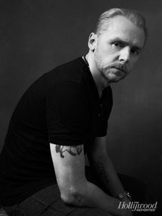 Simon Pegg awesome actor- one of my favorites and He looks good in a kilt.