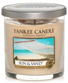 """Bring the sweet smells of warm summer days and nights to your space any time of year with Yankee Candle's tumbler candle. 