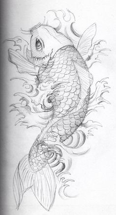 110 Best Japanese Koi Fish Tattoo Designs and Drawings - Piercings . Japanese Dragon Koi Fish Tattoo Designs, Drawings and Outlines. The inspirational best red and blue koi tattoos for on your sleeve, arm or thigh. Japanese Koi Fish Tattoo, Koi Fish Drawing, Fish Drawings, Tattoo Drawings, Body Art Tattoos, New Tattoos, Sleeve Tattoos, Art Drawings, Japanese Tattoos