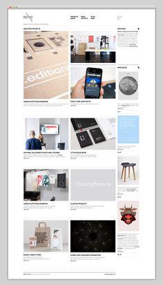 Web / BERG / Refined — Designspiration  Website design layout. Inspirational UX/UI design sample.  Visit us at: www.sodapopmedia.com #WebDesign #UX #UI #WebPageLayout #DigitalDesign #Web #Website #Design #Layout