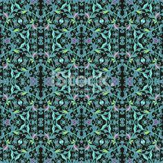 Seamless decorative pattern Royalty Free Stock Vector Art Illustration